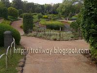 center Pond of Pu La Deshpande park