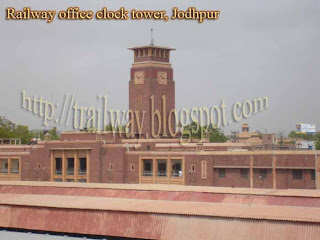 Indian Railway office at Jodhpur in India