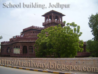 School Building of Jodhpur in India