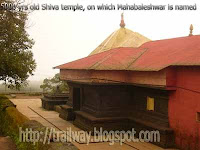 Mahabharata timed Shiva temple of Mahabaleshwar in India