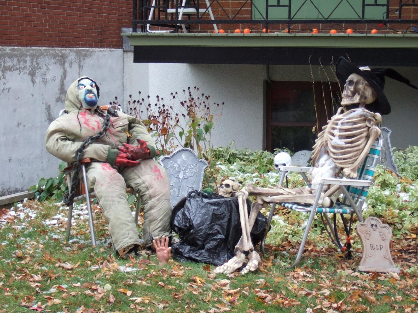 Qu bec escapade halloween au qu bec for Decoration qui fait peur