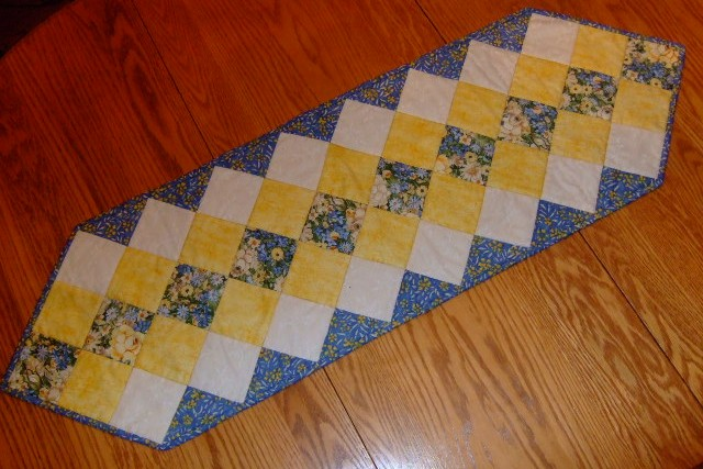 This runner and simple quilted  easy patterns 圖片標題: free … table will runner fast table