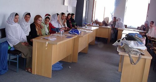 Teachers in Panjshir