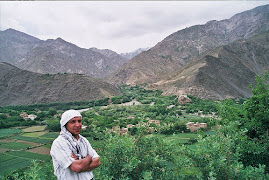 Panjshir's view and beauty