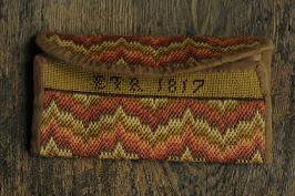 Ladies Flame Stitch Pocketbook