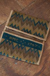 Double Pocket Flame Stitch Pocketbook