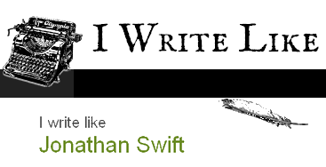 Jonathan swift writing style