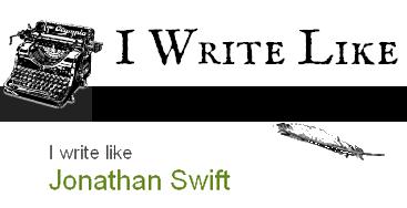 jonathan swift writing style