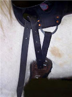 Buckled Cinch with Extra Latigo Leather