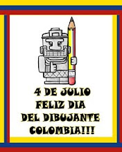 4 DIA DEL DIBUJANTE COLOMBIA!!!
