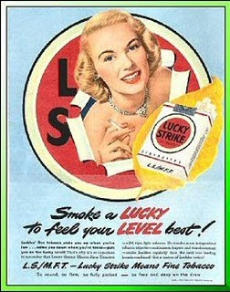 Luck Strike Means Find Tobacco