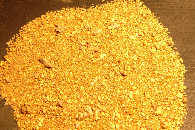 золотой песок чукотки