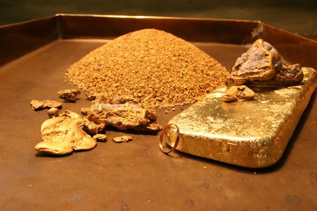 золото чукотки на столе