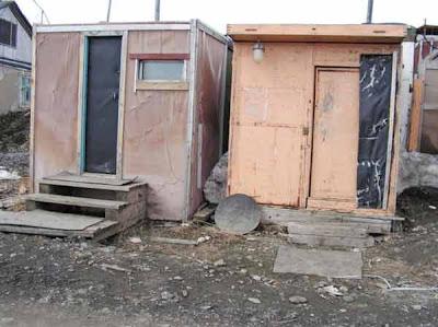 фотографии прииска Восточный 2008-временное жилье