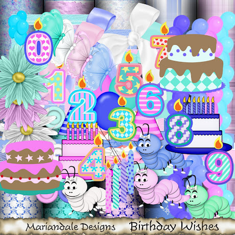 Χρόνια πολλά στις φίλες Rococo & Marna Mariandale+Designs_Birthday+Wishes