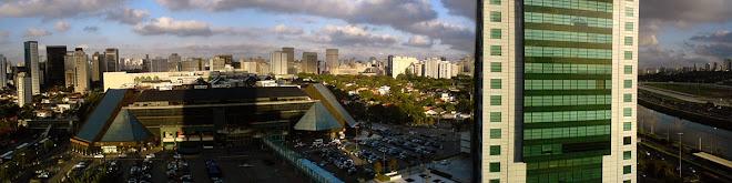 Shopping Eldorado, Rio Pinheiros e Jóquei Clube.