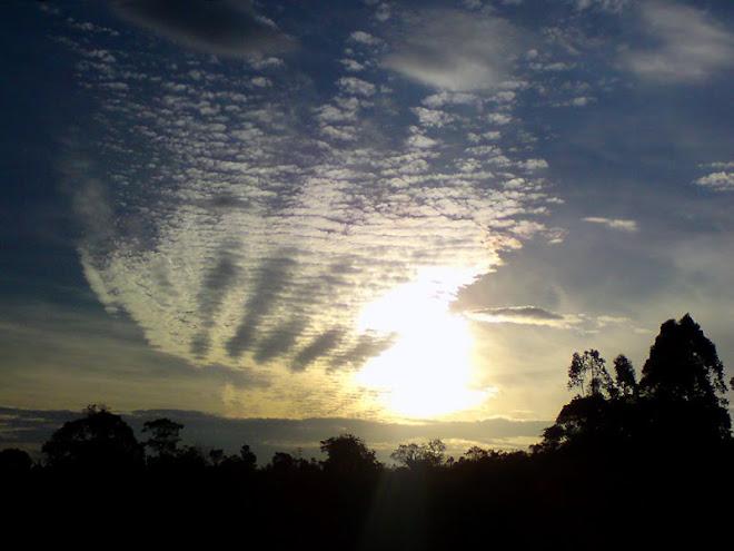 Pôr-do-sol em Arujá