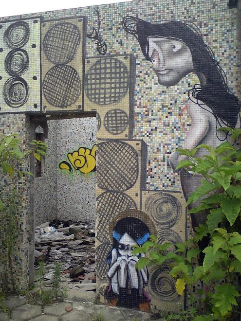 Grafite é arte em qualquer lugar