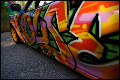 Making Car Graffiti