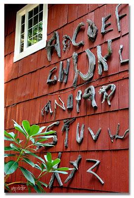 alphabet, driftwood alphabets