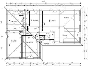 Plan de votre villa gratuit plans de villas gratuits - Realisation de plan de maison gratuit ...