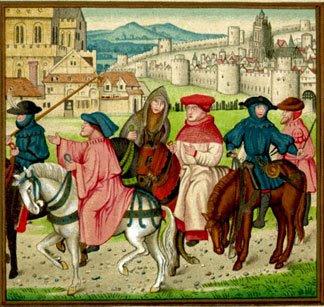 'Os Contos de Cantuária' de Chaucer