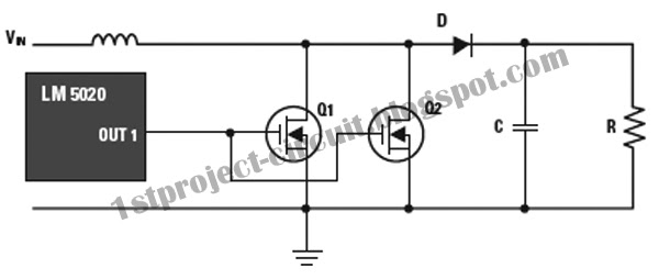 project circuit design  single gate