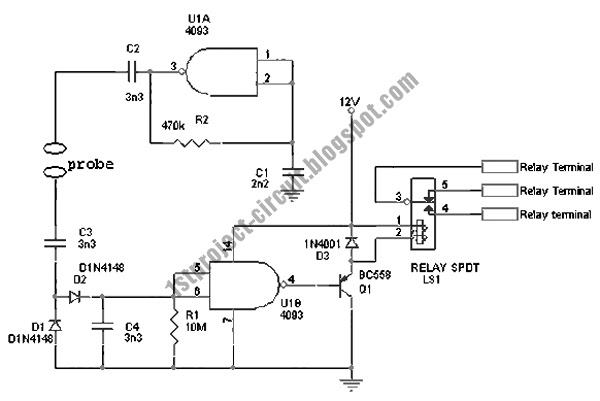 project circuit design  avoiding electrolysis for water