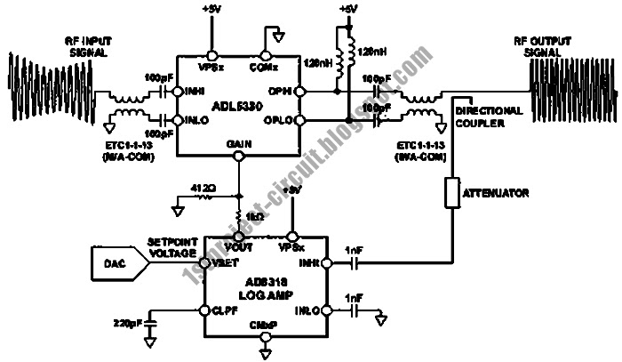 project circuit design  closed loop automatic power