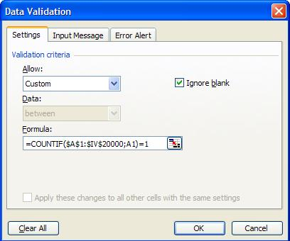 how to clear duplicates in excel 2010