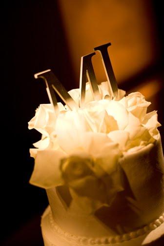 [bel+air+bay+club+wedding+initial+cake+topper.JPG]