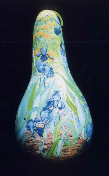 Van Gourd's Irises - Painting