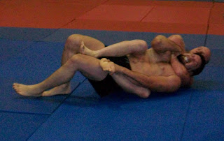 Have done Rear naked choke submission
