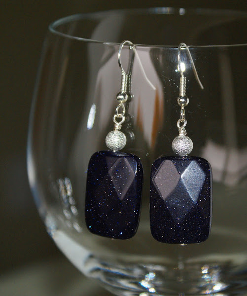 A bolder version of the purple goldstone gems