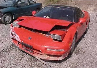 Acura Nsx Crash Wreck Exotic Car Accident Totaled Page
