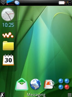 GDesk personal standby screen builder for Symbian