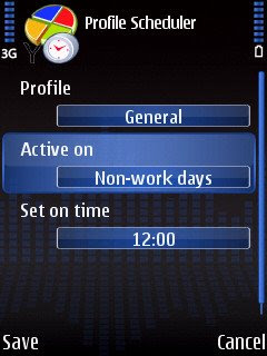 Profile Scheduler