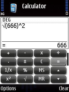 Nokia Enhanced Calculator for Symbian S60