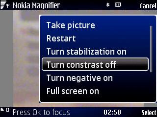 Nokia Magnifier