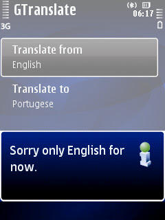 GTranslate, Google Translator Widget, KiroDict dictionary and thesaurus