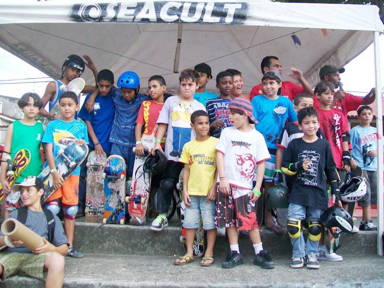 O futuro da geração Formiga de Skate
