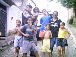 POLÍCIA E COMUNIDADE - Bairro de Mandacaru Jardim Mangueira