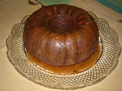 Brown Sugar And Chocolate Chip Pound Cake With Maple-Espresso Glaze ...
