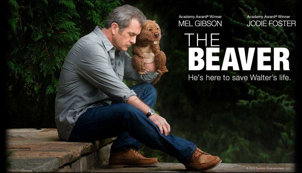 mel gibson beaver puppet. Walter (Mel Gibson) gives his