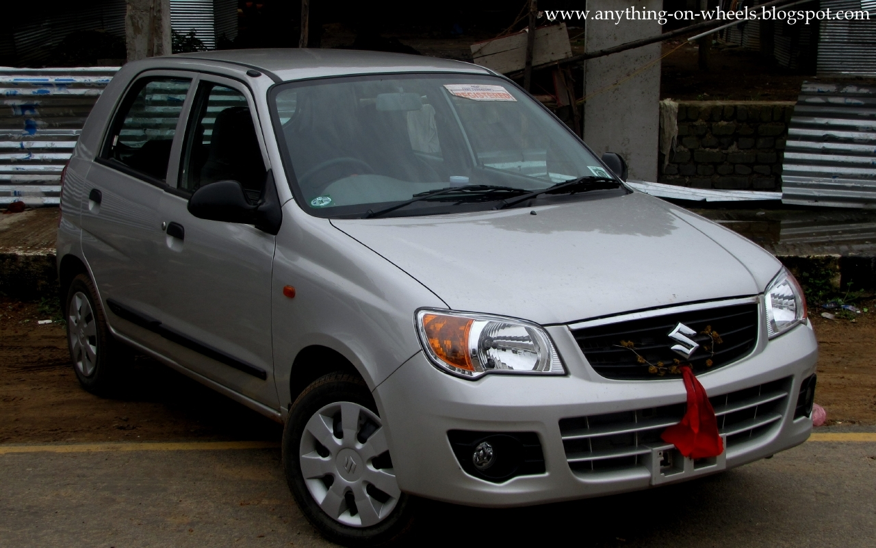 anything on wheels driven 3 marutisuzuki alto k10