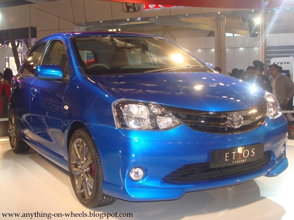 Toyota Etios Liva spotted testing