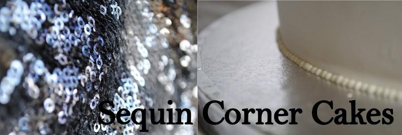 Sequin Corner Cakes