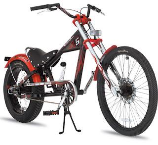 Bike Sting Ray Three Speed