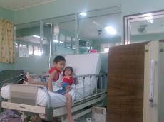cj and prince...@ the hospital