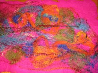 [Pink+Felted+Fabric]